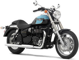 2004 Triumph Speedmaster in Jet Black & Sky Blue