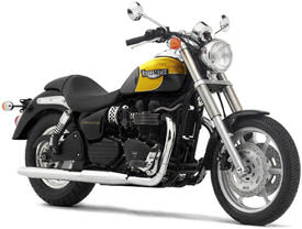 2004 Triumph Speedmaster in Jet Black & Racing Yellow