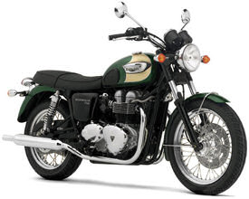 2004 Triumph Bonneville T100 in Goodwood Green