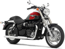 2005 Triumph Speedmaster in Jet Black & Tornado Red