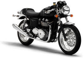 2005 Triumph Thruxton in Jet Black and Silver