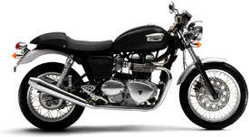 2006 Triumph Thruxton in Jet Black