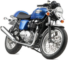 2006 Triumph Thruxton in Caspian Blue