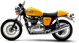 2006 Triumph Thruxton in Racing Yellow