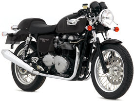 2007 Triumph Thruxton in Jet Black