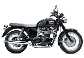 2010 Triumph Bonneville T100 in Jet Black