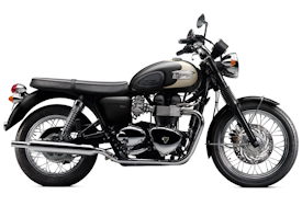 2011 Triumph Bonneville T100 in Vintage Cream/Chocolate